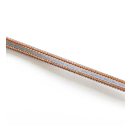 Van Damme 2x2.5mm UP LCOFC Hi-Fi Speaker Cable - per metre