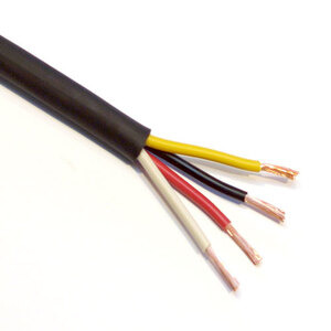 Photo of Van Damme 4X4.0MM Bi-Wire Tour Grade Black Series Speaker Cable - Per Metre Adaptors and Cable