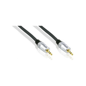 Photo of Profigold Audio Lead, Stereo, 3.5MM Male To 3.5MM Male Mini-Jack Cable Cable Tidy