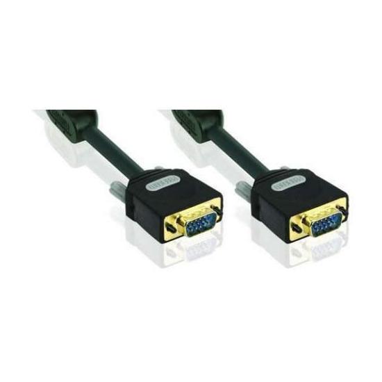 Profigold VGA Monitor Video Cable, 2x15-pin HD Male