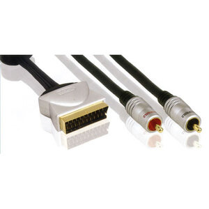 Photo of Profigold Audio Lead, Scart Male To 2 RCA Phono Male - Stereo Audio Cable Adaptors and Cable