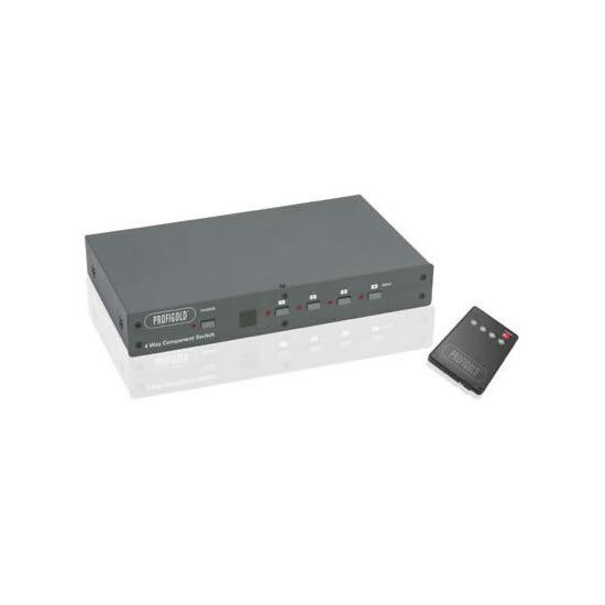 Profigold Component/Audio Switch Box 4 Port