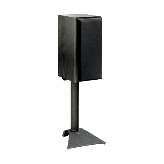 Vogels Loudspeaker floor stand, 18inch (45cm) height, 25kg max weight (black finish), Pair