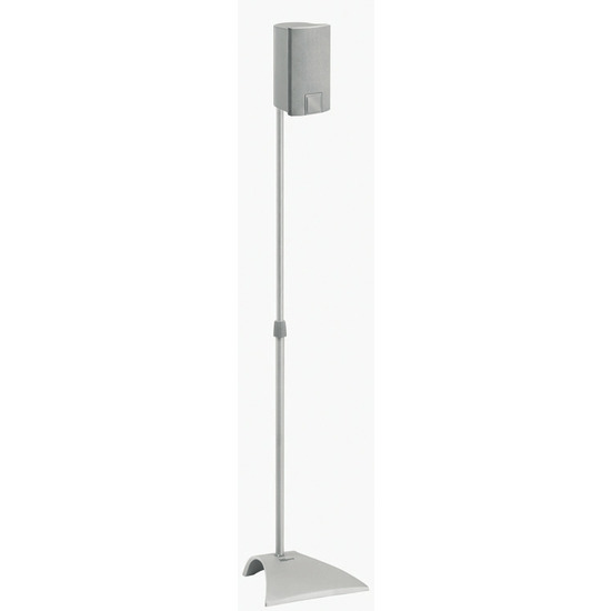 Vogels Satellite speaker floor stand, adjustable to 52inch (132cm) height, 3kg max weight, Pair