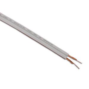 Photo of PROFIGOLD Bassflex 2X1.5MM Speaker Cable White - Per Metre Adaptors and Cable