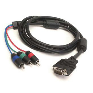 Photo of GEFEN VGA To Component Cable HD-15 Male To 3 RCA Male Breakout Video Cable Cable Tidy