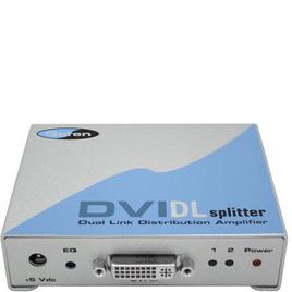 GEFEN 1x2 DVI DL Splitter (Pre-order) 1x DVI Dual Link inputs, 2x DVI Dual Link outputs Reviews