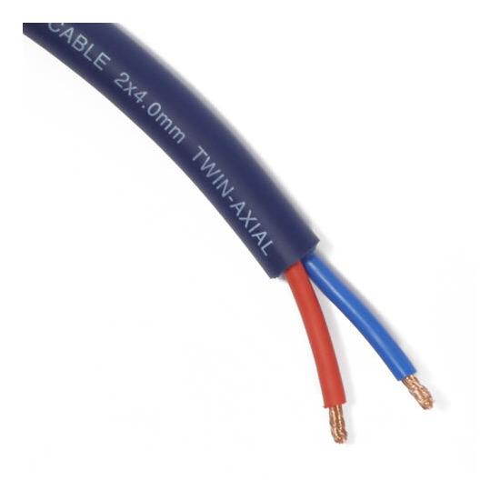 Van Damme 2x4mm UPOFC Studio Grade Blue Series Speaker Cable - per metre