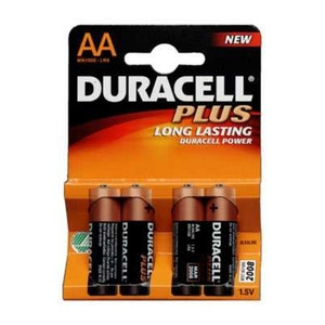 Photo of Duracell AA X 4 Plus Battery