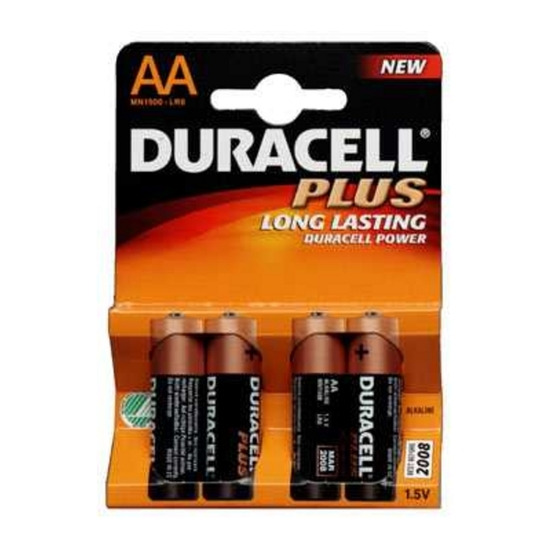 Duracell AA X 4 Plus