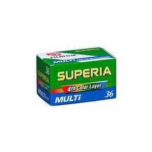 Photo of New Superia Multi 36 Camera Film