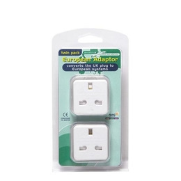 European Travel Adaptor Twin Pack Reviews