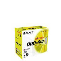 Sony DVD+RW 4.7GB 5DPW120 Reviews