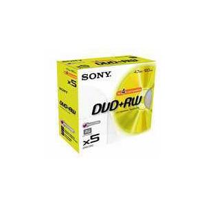 Photo of Sony DVD+RW 4.7GB 5DPW120 DVD RW