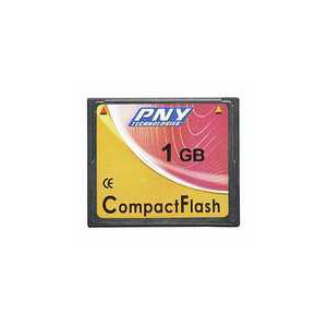 Photo of PNY Technologies COMPACT FLASH Memory Card
