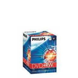 Philips DVD+RW 4.7 GB DVDRW1S04/300 Reviews