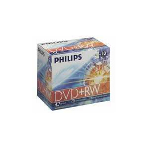 Photo of Philips DVD+RW 4.7 GB DVDRW1S04/200 DVD RW