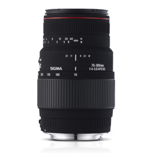 Photo of Sigma 70-300MM F4-5.6 DG For Nikon Lens