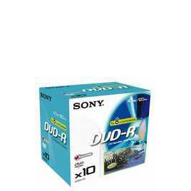 Sony DVD-R 4.7GB 10DMR47 Reviews