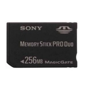 Photo of Sony MSX-M256S DUO MEMORY STICK DUO PRO Memory Card