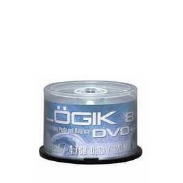 Logik Dvd+r 8x 50 Pack Reviews