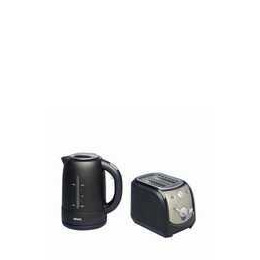 Krups Twin Pack Brushed Steel/black Kettle & Toaster Reviews