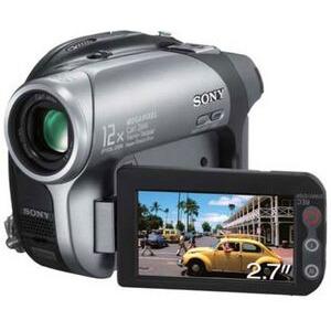 Photo of Sony DCR-DVD202E Camcorder