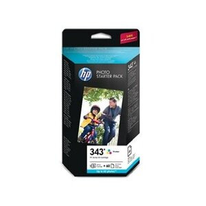 Photo of HP 343 Series Photo Pack Printer Paper