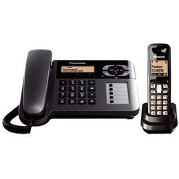 Panasonic KX-TG6461ET Digital Corded and Cordless Telephone with Answering Machine