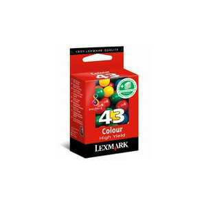 Photo of Lexmark 43 Colour Ink Ink Cartridge