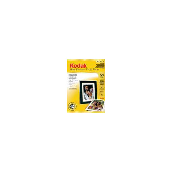 Kodak A4 Ultra Premium Glossy Photo Paper - 50 Sheets