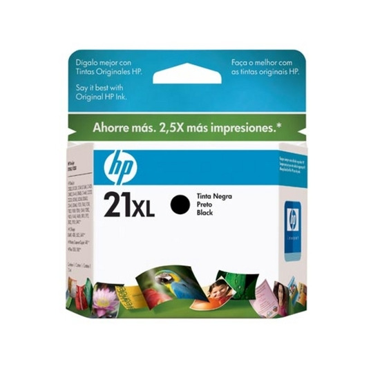 Hewlett Packard 21XL Black Cartridge