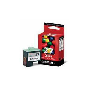 Photo of Lexmark #27COL Cartridge Ink Cartridge