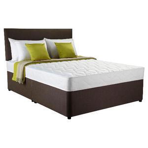 Photo of Silentnight Miracoil 3-Zone Ashford King 4 Drawer Divan Set Bedding
