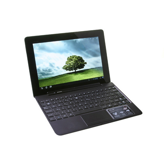 Asus Eee Pad Transformer Prime TF201 with keyboard