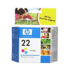 Photo of HP No 22 Tri Colour Ink Cartridge