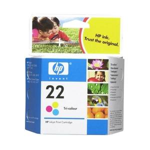 Photo of HP No 22 Tri Colour Ink Cartridge