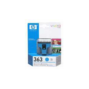Photo of Original HP No.363 Cyan Printer Ink Cartridge C8771EE Ink Cartridge