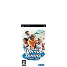 Sony Virtua Tennis World Tour PSP Reviews