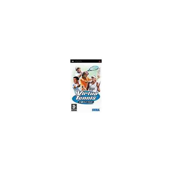 Sony Virtua Tennis World Tour PSP