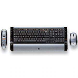 Photo of Logitech 967555-0120 CORDLESS Desktop S510 MEDIA REMOTE Keyboard