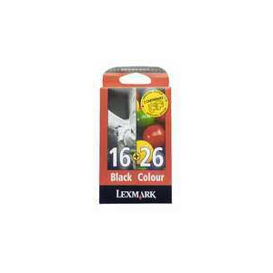 Photo of LEXMARK #16 & #26 PACK Ink Cartridge