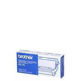 Brother PC75 Fax Ribbon Black Reviews