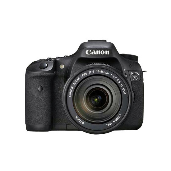 Canon EOS 7D with 15-85mm IS