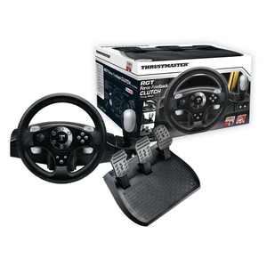 Photo of Thrustmaster RGT Clutch Force Feedback Racing Wheel & Pedals Games Console Accessory
