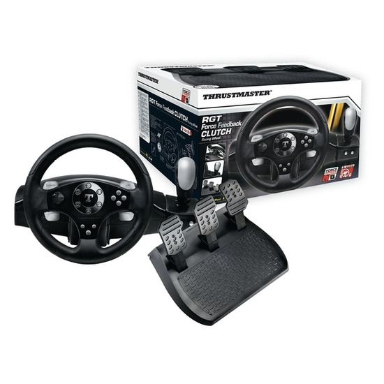 Thrustmaster RGT Clutch Force Feedback Racing Wheel & Pedals