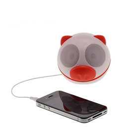 KITSOUND Pig Buddy Portable Speaker - Red