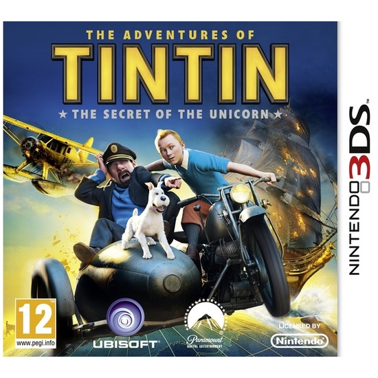 Nintendo The Adventures of TinTin: The Secret of the Unicorn - for Nintendo 3DS