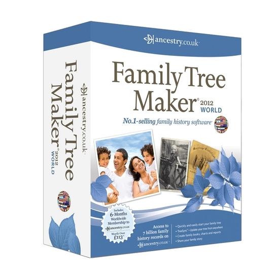 Avanquest Family Tree Maker 2012 World Edition