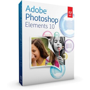 Photo of Adobe Photoshop Elements 10 Software